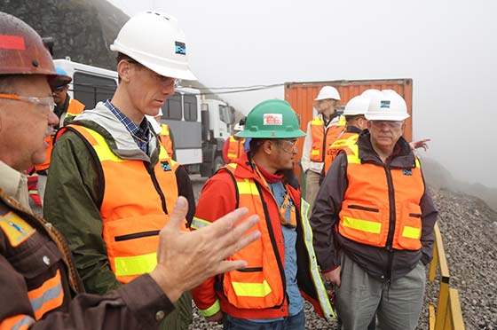 U.S. Ambassador to Indonesia Tours Grasberg Operations