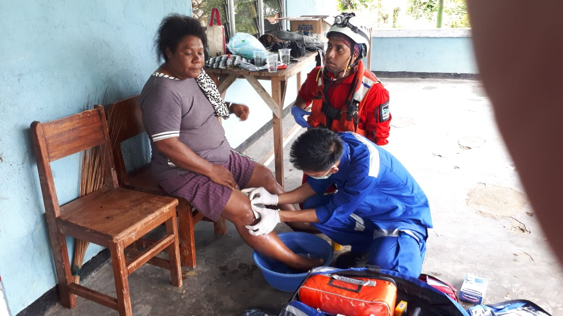 PT Freeport Indonesia quickly mobilized resources to provide critically needed rescue and medical se