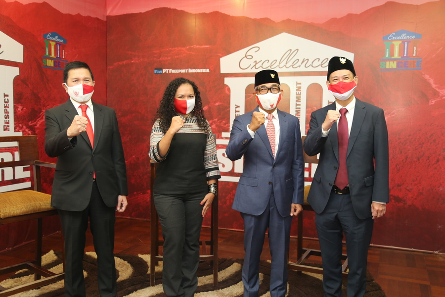 The grand launching of SINCERE and the Virtual Town Hall Meeting hold virtually