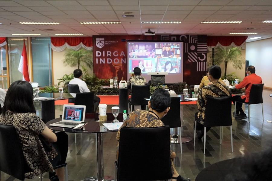 Jakarta Virtual Independence Day Celebration in New Normal Era