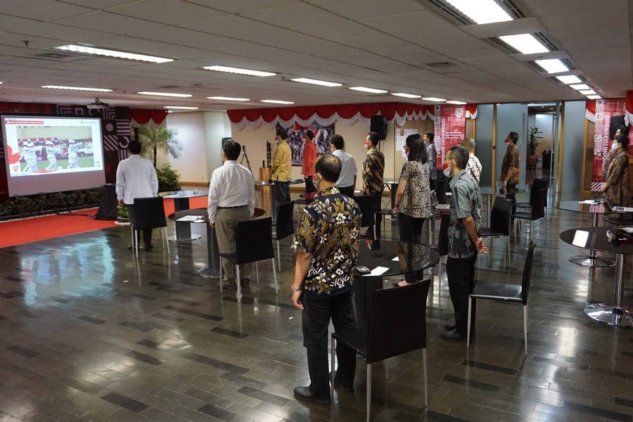 Perayaan Hari Kemerdekaan Virtual di Jakarta di Era Kebiasaan Baru