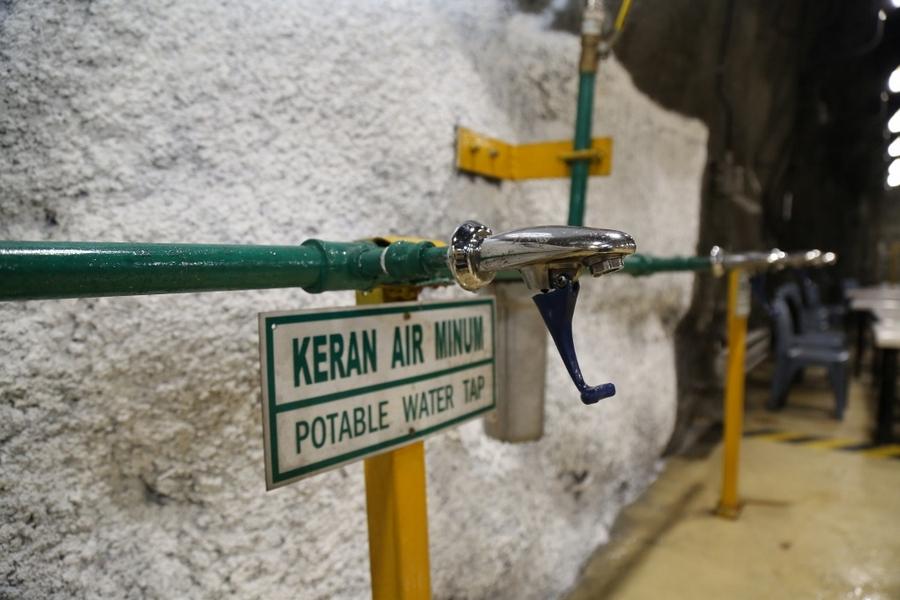 Potable Water Tap at DMLZ Underground Mine