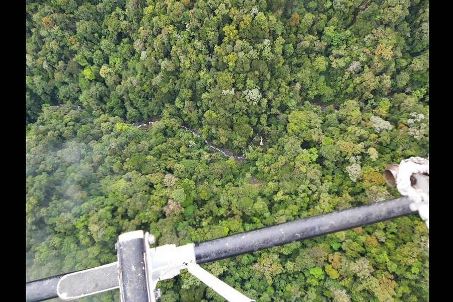PTFI Aviation Crew Rescues Three from Jungle Helicopter Crash