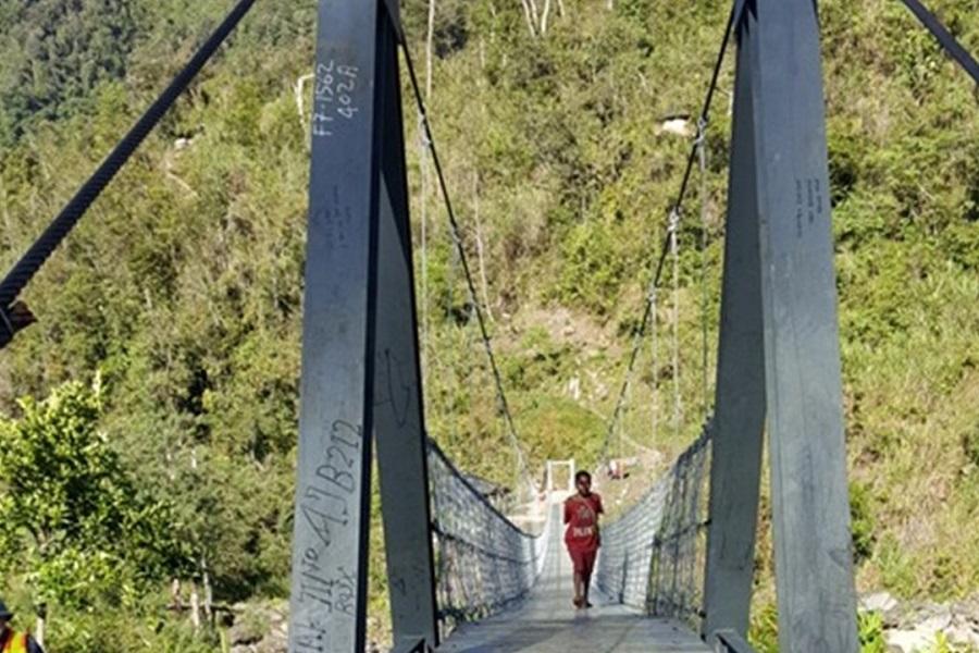 Suspension Bridge in Hoya District