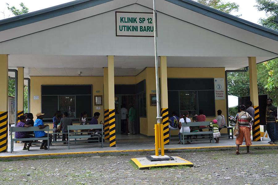 Utikini Regency Government Clinic