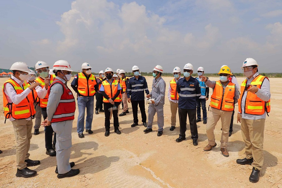 PTFI and PT Chiyoda International Indonesia Signed EPC Agreement Contract